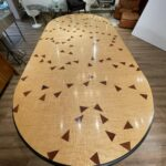 DINING TABLE BY WENDELL CASTLE (1932-2018) SOARS TO $70,110 IN NEUE AUCTIONS ONLINE MAY MODERNISM SALE