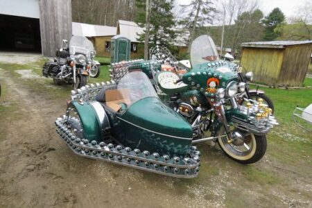 ROBERT 'BOB' BEAROR COLLECTION OF HARLEY-DAVIDSON AND INDIAN MOTORCYCLES, PARTS AND OTHER ITEMS FOR AUCTION