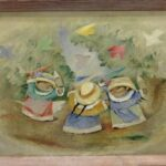 OIL PAINTINGS BY RAM KUMAR AND JEAN CHARLOT FOR BRUNEAU & CO.'S ONLINE SUMMER ANTIQUES & FINE ART ESTATE AUCTION